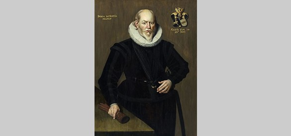 Portret van Maurits Ripperda tot Holwierde © Groninger Museum PD