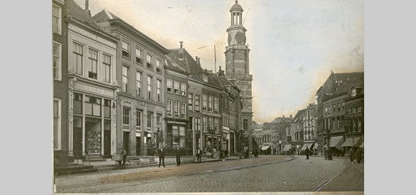 Houtmarkt in Zutphen in 1918