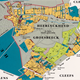 Kaart uit 1755. De nummers zijn huizen en boerderijen met de bijbehorende grond. Het dorp is verdeeld in 'rothen'. Dat zijn buurtschappen of wijken. Bert Thissen en Chris Peeters, bijlage bij A.Bosch en J.Schiermann (red), Van Gronspech tot Groesbeek. Fragmenten uit een lokaal verleden 1040-1940, Groesbeek 1991.