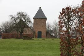 Dit torentje in Beuningen resteert van het 14e eeuwse kasteel Blanckenburgh