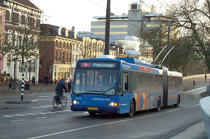 Trolleybus Arnhem. Foto: Connexxion
