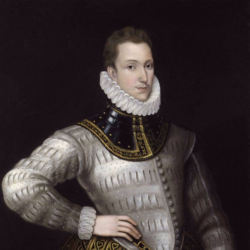 Sir Philip Sidney © National Portrait Gallery (detail) - PD