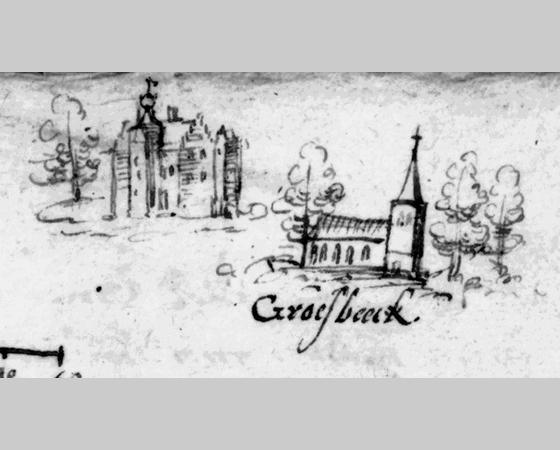 Het kasteel van de Heren van Groesbeek