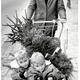 Het kopen van een kerstboom rond 1970
