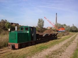 Gelders Smalspoor Museum Diema dragline