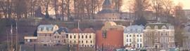 Panorama waalkade met de Bastei @ De Bastei