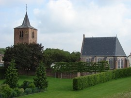 Protestantse kerk in Gendt (Bron: Wikimedia)