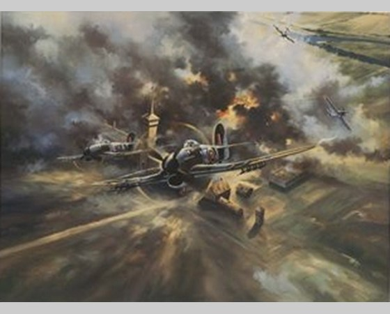 Eerste bombardement op Doetinchem