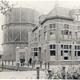 Gasfabriek met gashouder in de Stationsstraat