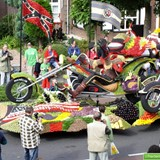 Fruitcorso in Tiel