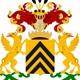 Wapenschild van de familie Van Haersolte tot Yrst met als wapenspreuk: Omnia tempus habet – De tijd omvat alles © Wikimedia CC-BY-SA 3.0