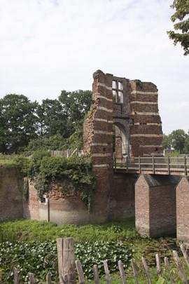 De poort van kasteel Batenburg