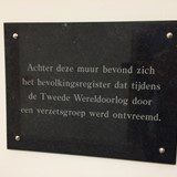 Plaquette Wageningen © PD/Nationaal Comité 4en5mei, via oorlogsbronnen
