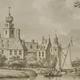 Kasteel Poederoyen tussen 1600 en 1672. © Gelders Archief, PD