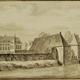 Huis Dorth in 1726 door Abraham de Haen © Wikimedia - PD