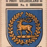 Het wapen in de Koffie Hag albums, ca. 1930 (Bron: Heraldry of the World)