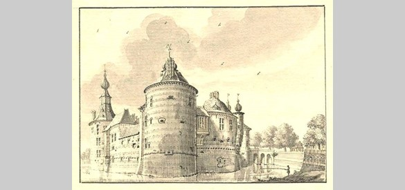 Kasteel Batenburg, Jan de Beijer (1741)