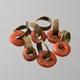 De oor- of haarringen van 'Meta', gevonden in Meteren © Museum het Valkhof